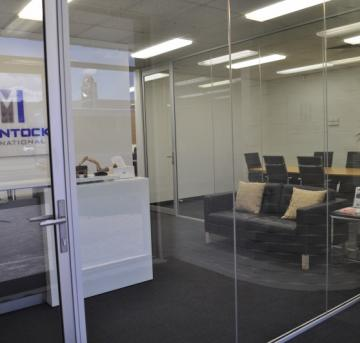 The offices of the international freight forwarder company Mclintock